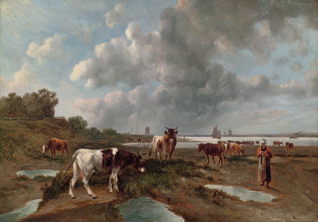 A. de Bree (Dutch, circa 1883)