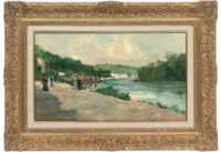 A summer afternoon by the Seine