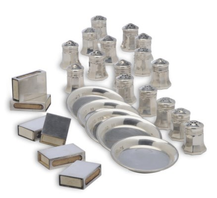 A GROUP OF AMERICAN SILVER SMO