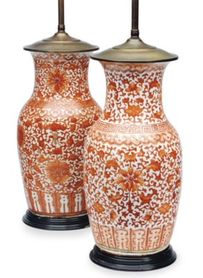 A PAIR OF CHINESE PORCELAIN IR