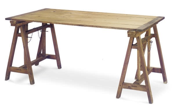A PINE AND OAK ADJUSTABLE WRIT