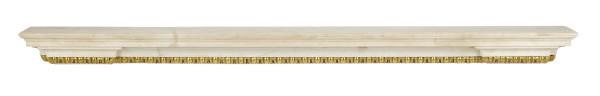 A FRENCH ORMOLU-MOUNTED WHITE