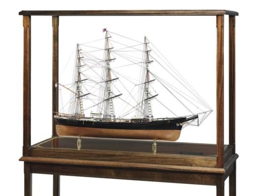 A Model Of The Clipper Ship So