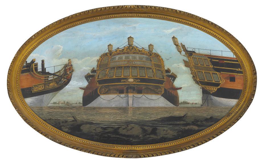 Three Views of a Ship
