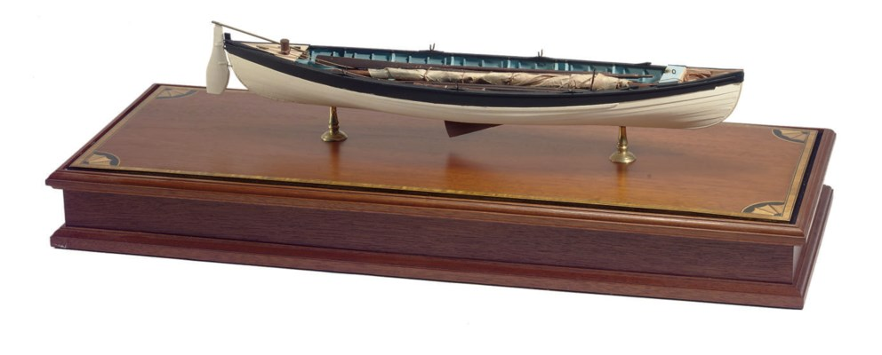 A model of a New Bedford whale