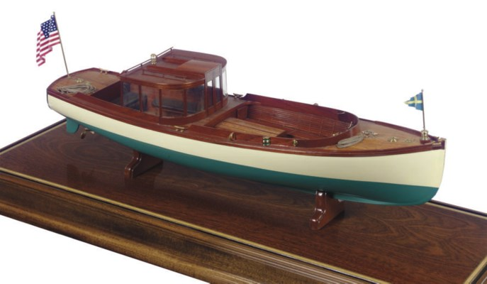 A model of S.Y. Corsair's stea