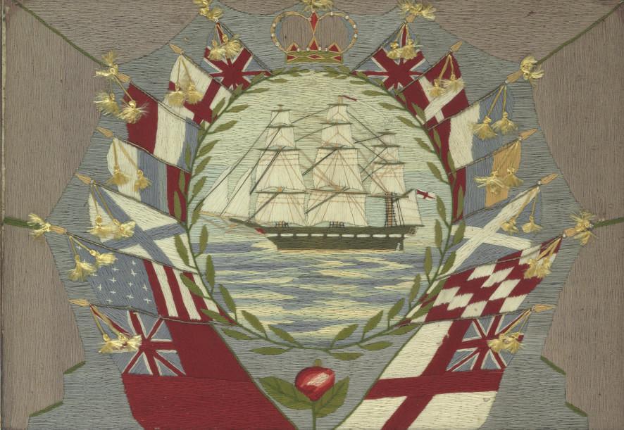 A commemorative British Wool w