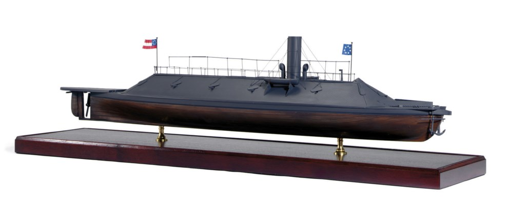 A model of the C.S.S. Virginia