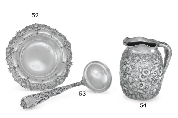 A SILVER CANDY DISH