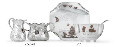A SILVER AND MIXED-METAL CREAM
