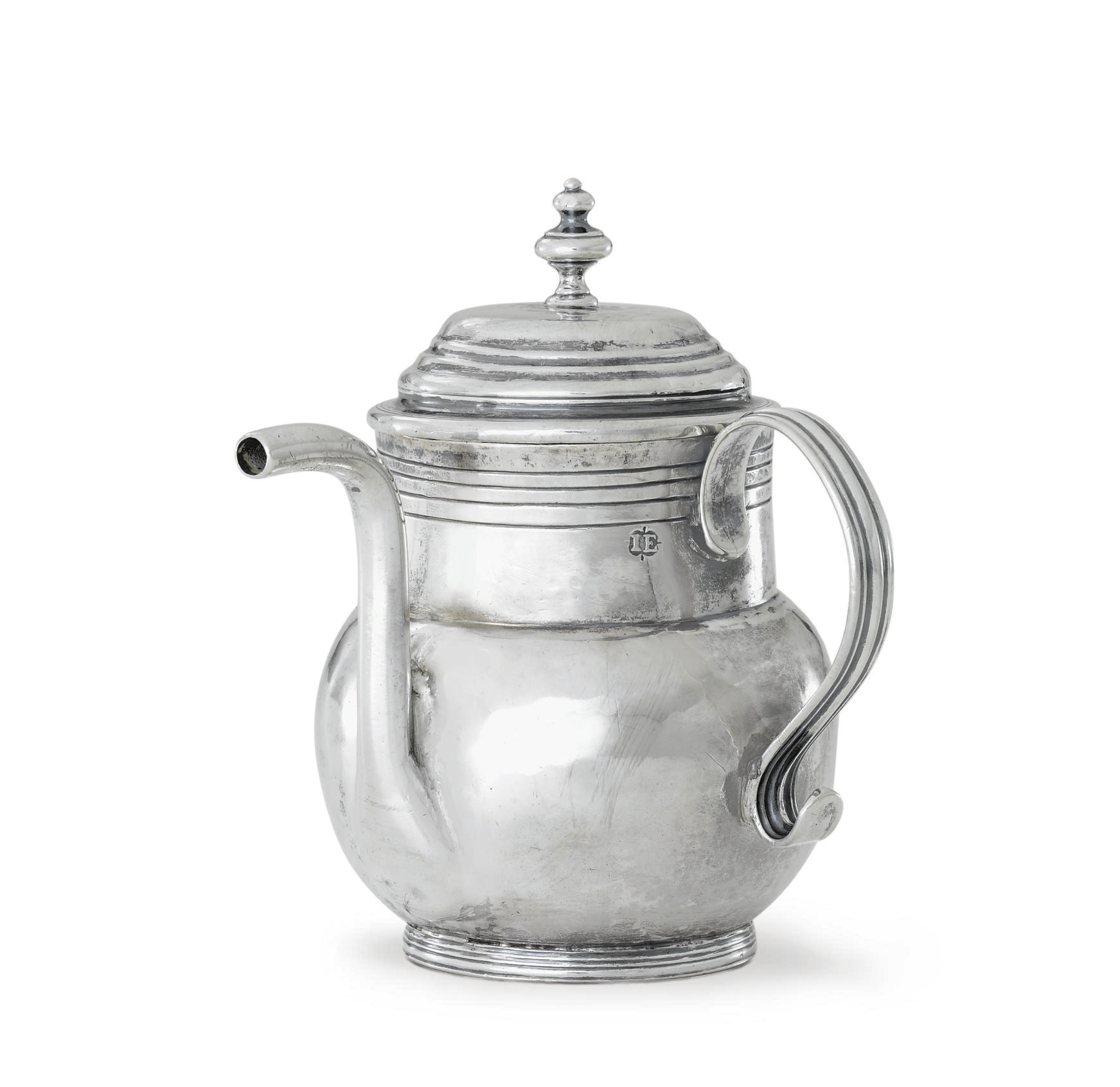 A SILVER SPOUT CUP