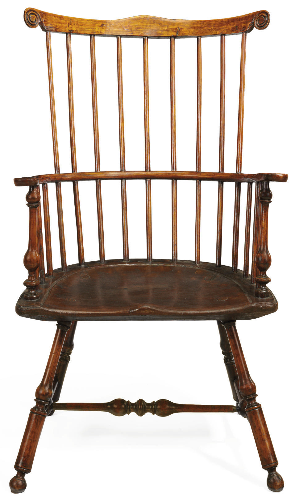 A Windsor Comb-Back Armchair