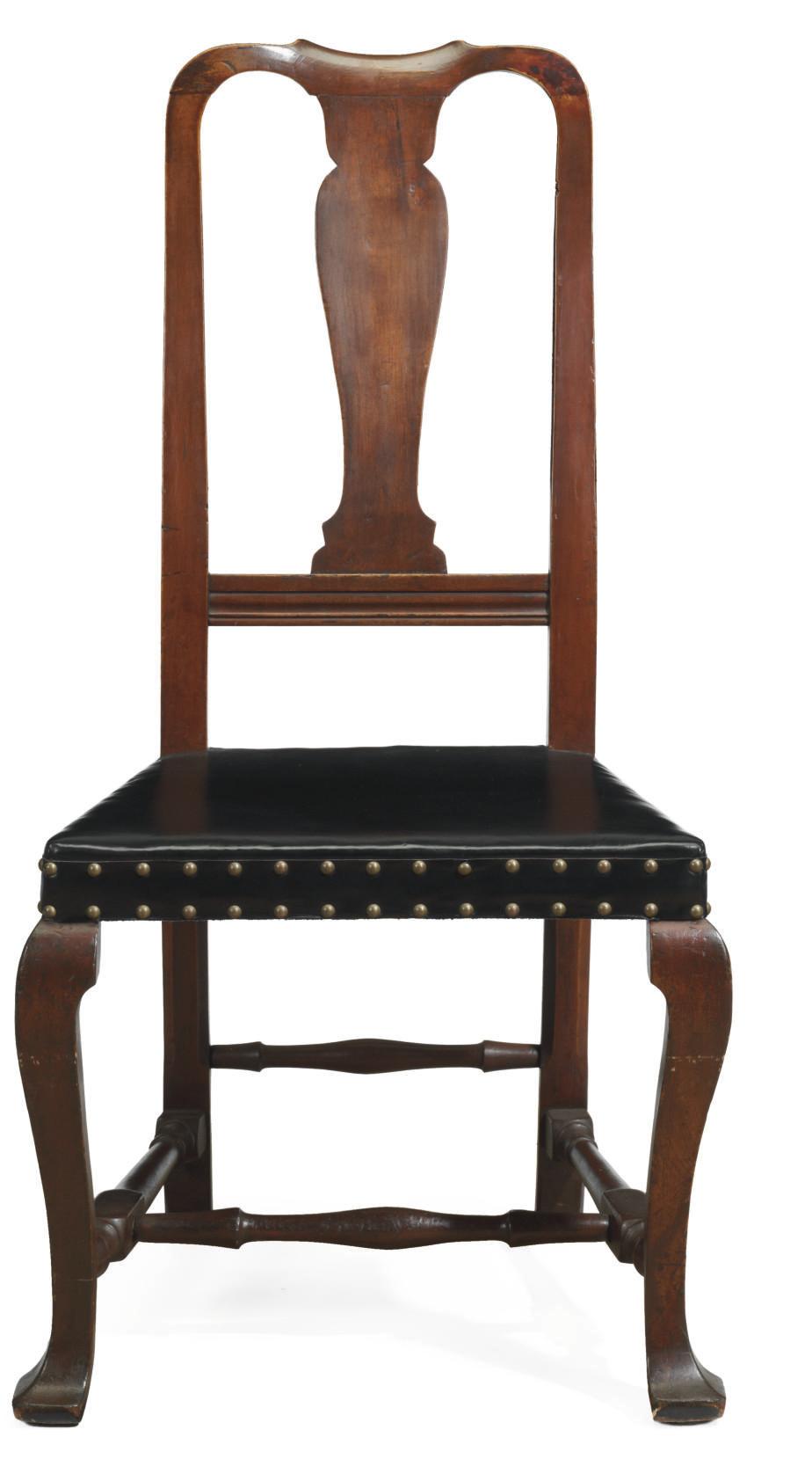 A Queen Anne Maple Side Chair