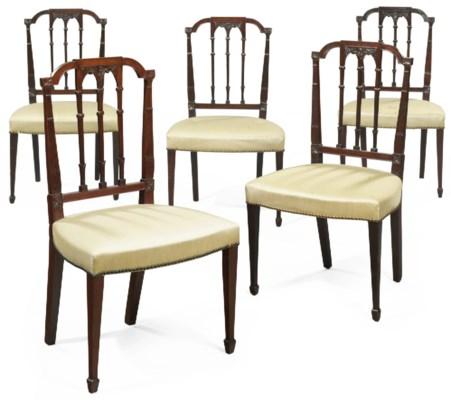 An Assembled Set of Five Feder