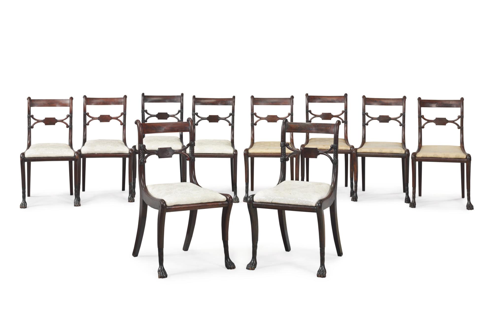 An Assembled Set of Ten Classi