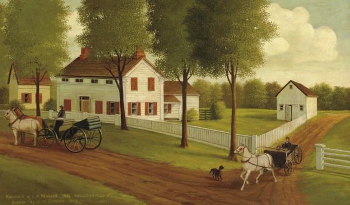 C.W. Jenkins, Dated 1848