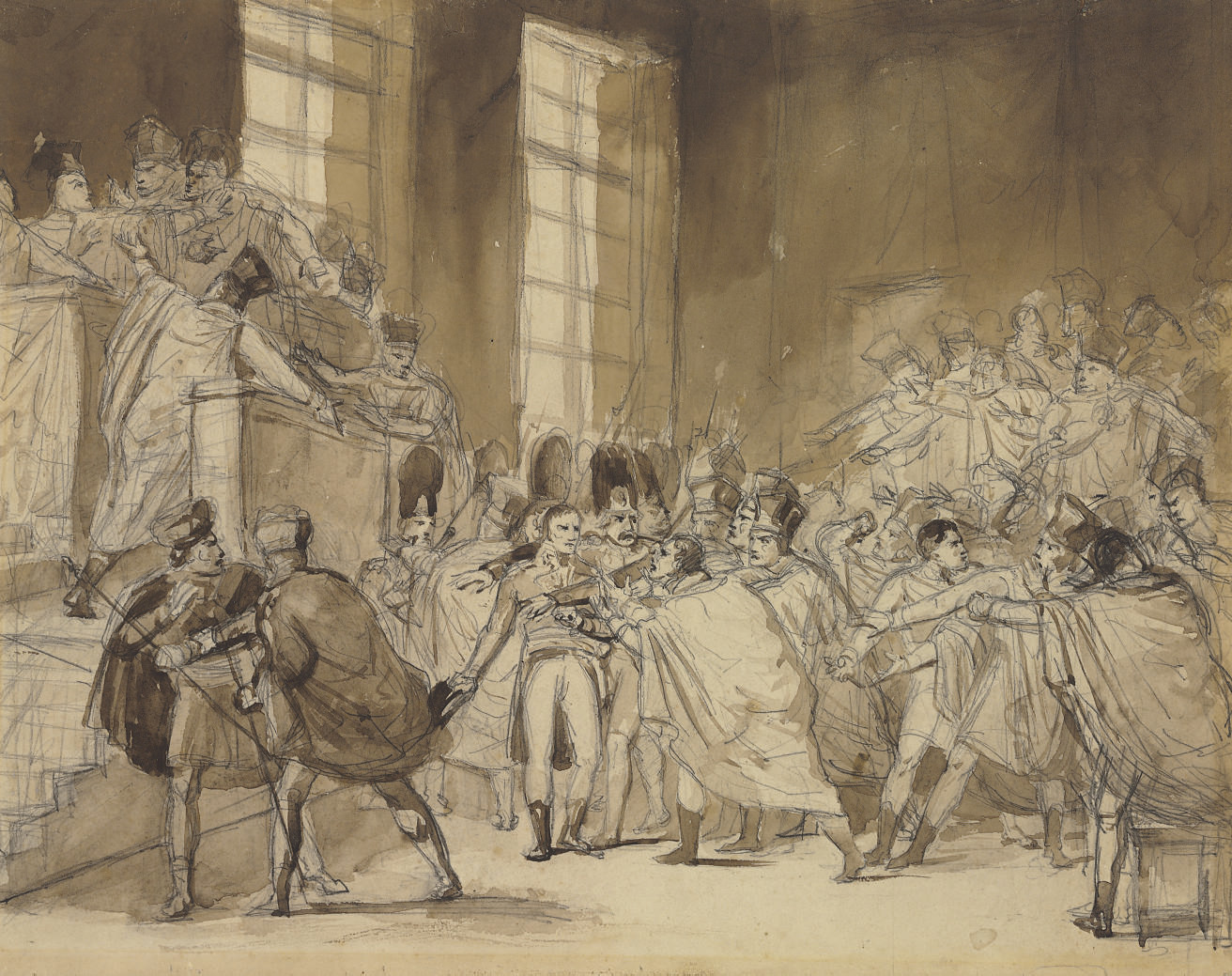 The Coup of XVIII Brumaire: Bonaparte before the Council of Five Hundred