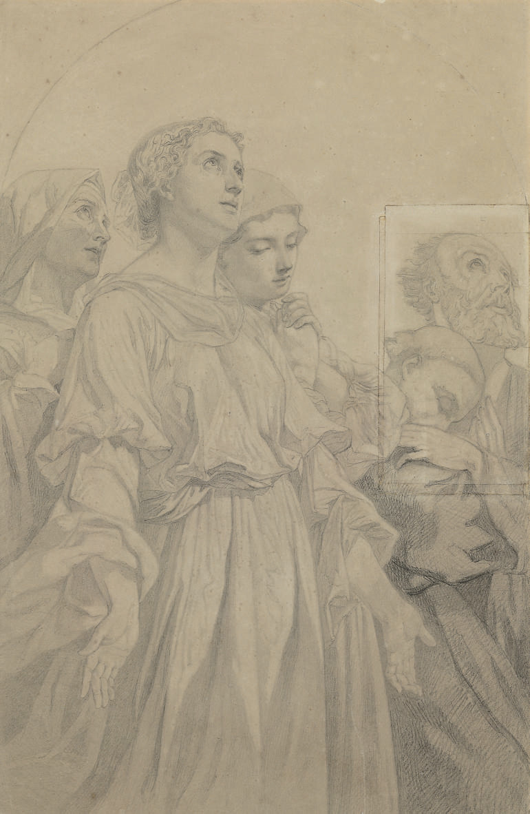 Study for The Beautitudes