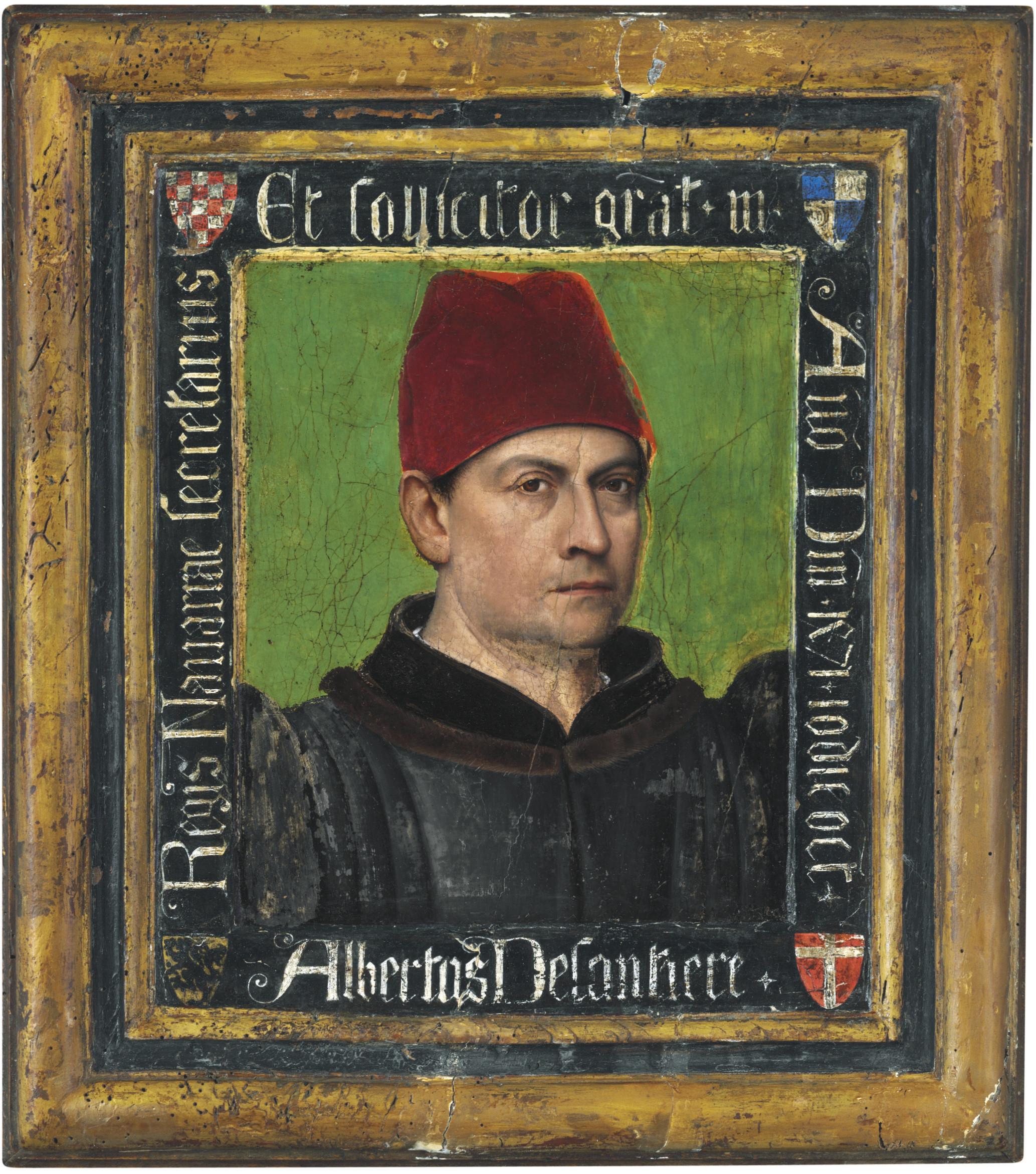 Portrait of Albertus Delantiere, Secretary to Navarre