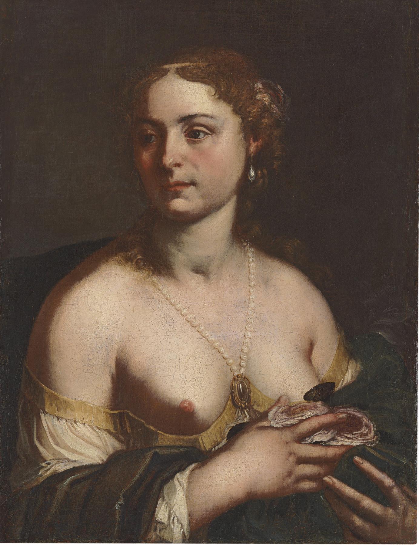 A courtesan