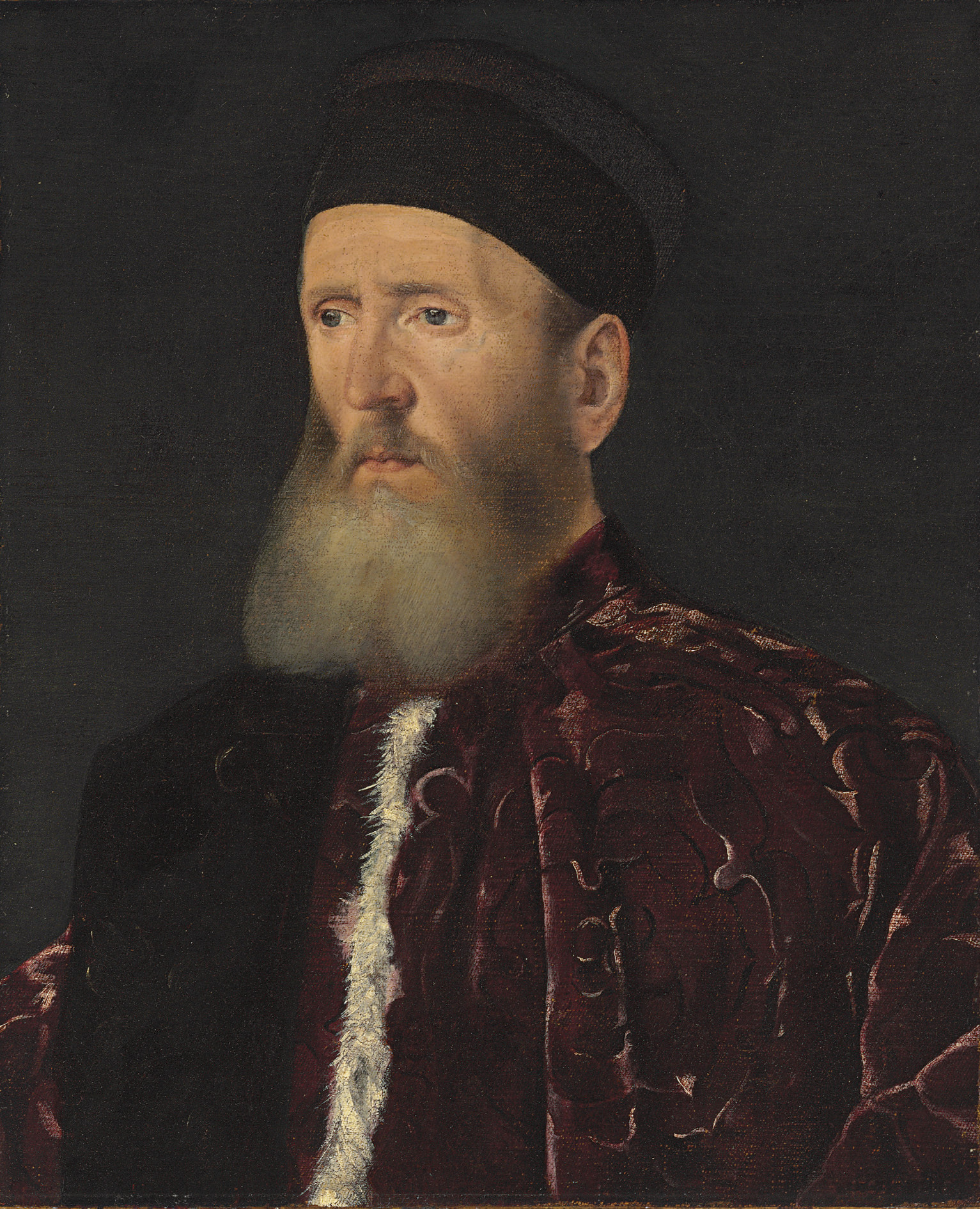 Portrait of a Procuratore, bust-length