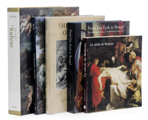 A collection of books on Flemi