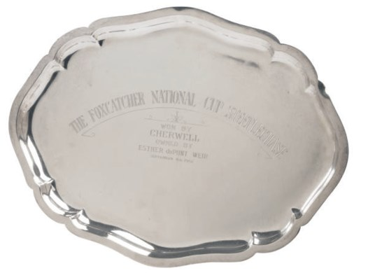 AN AMERICAN SILVER SHAPED OVAL