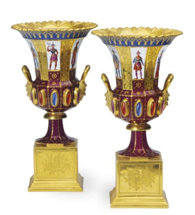 A PAIR OF FRENCH GOTHIC REVIVA