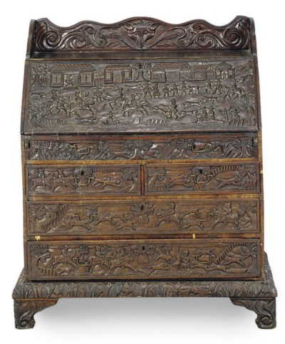 AN ENGLISH OAK AND ASH BUREAU,