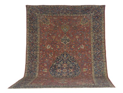 A KIRMANSHAH CARPET,