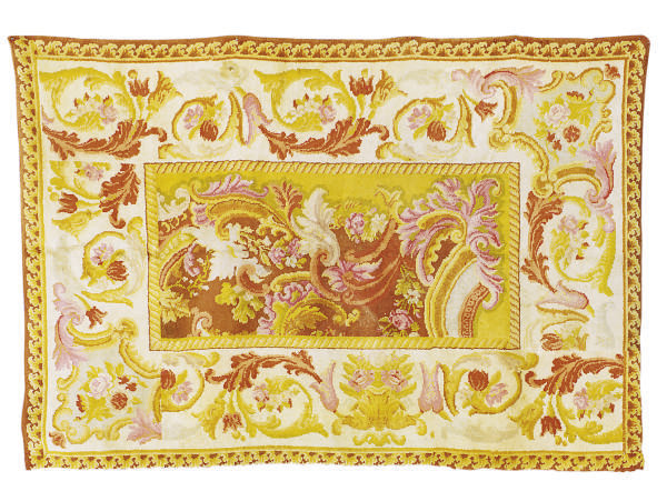 A FRENCH SAVONNERIE RUG,
