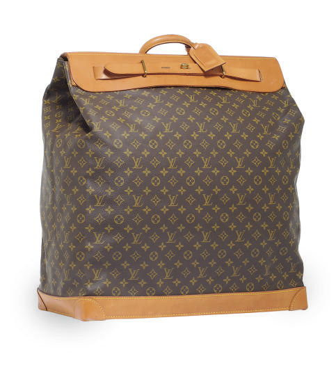 A LOUIS VUITTON TRAVEL SATCHEL
