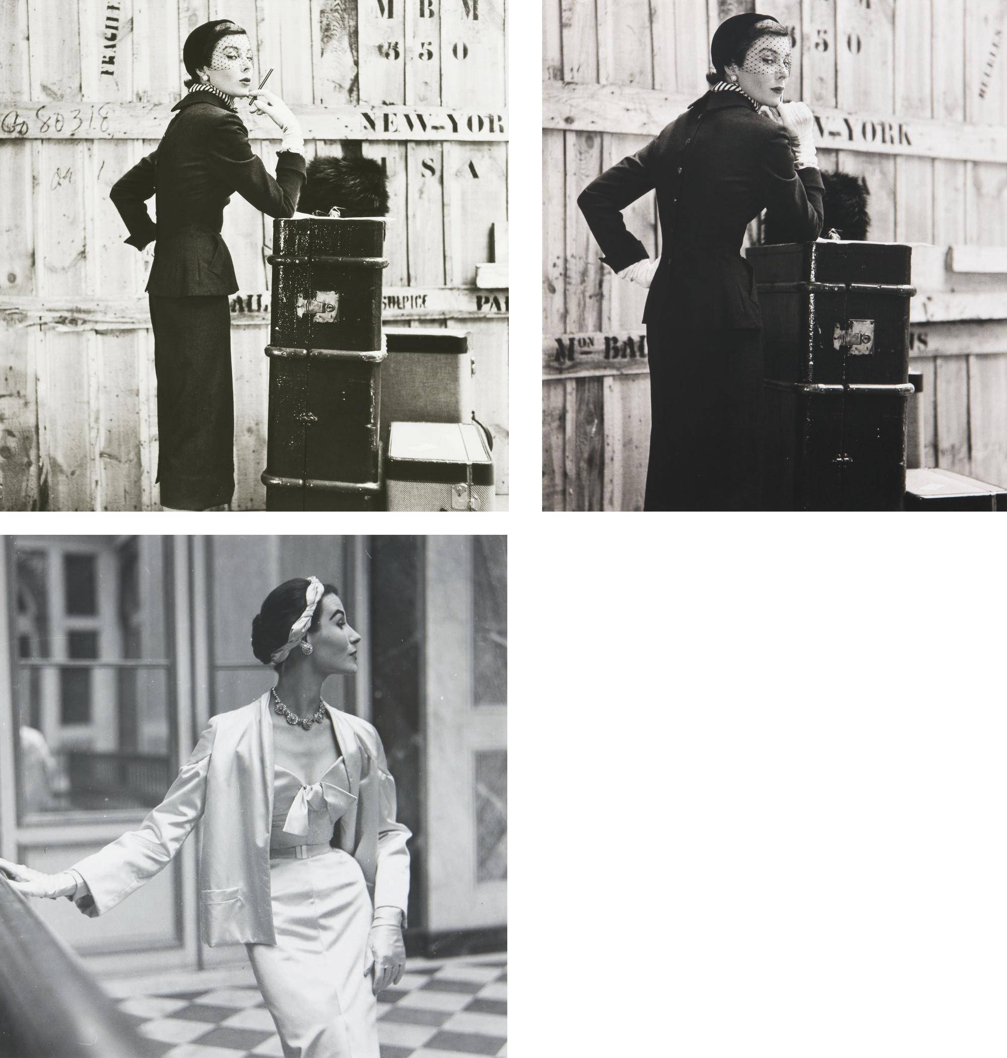 Vogue fashion studies, 1950-1959