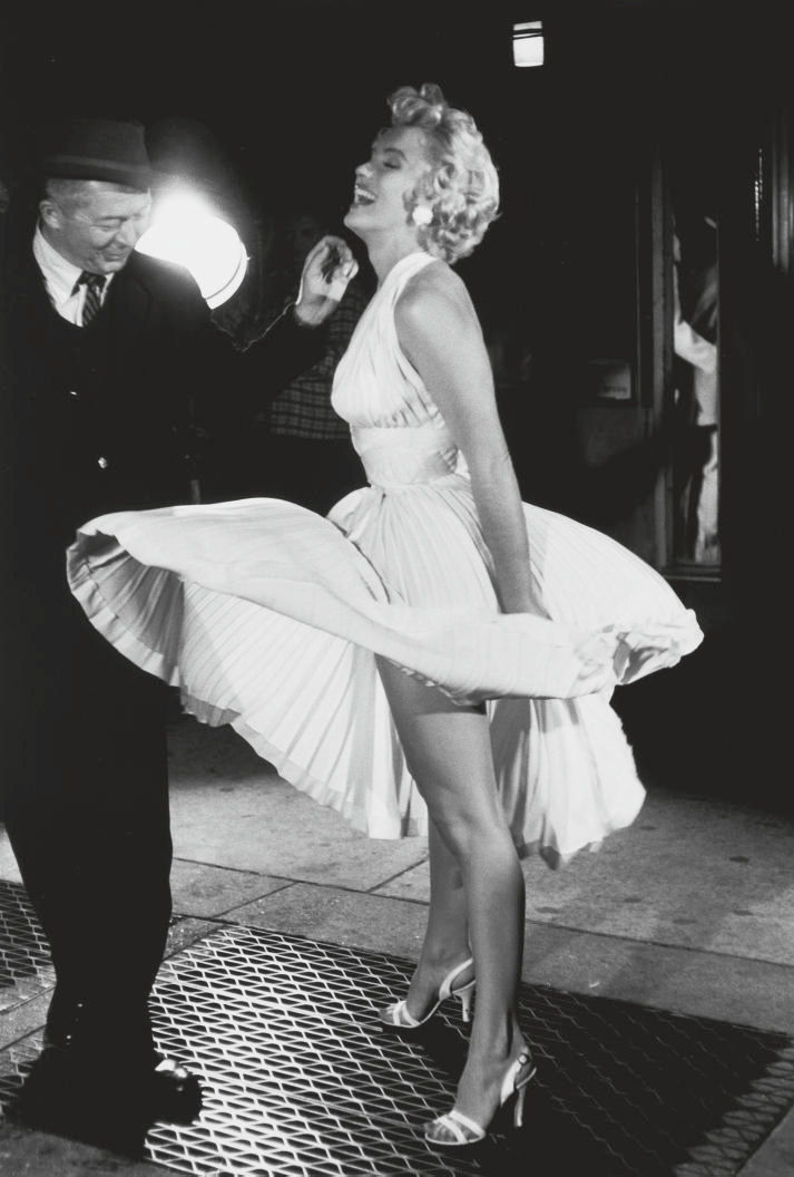 Shooting The Seven Year Itch with Billy Wilder, New York, 1954