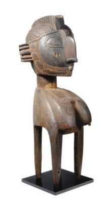A BAGA NIMBA HEADDRESS,