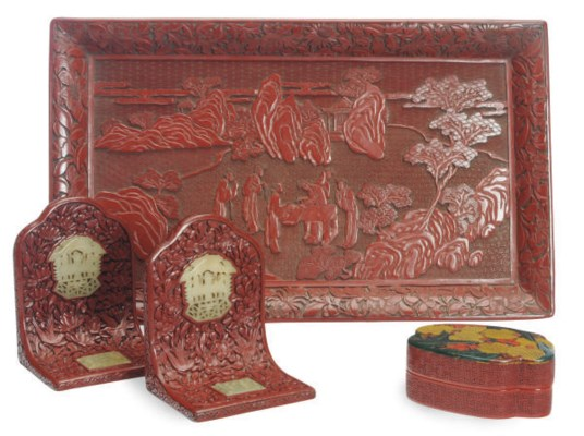 A GROUP OF CHINESE LACQUERED O