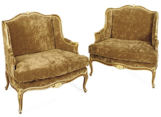 A PAIR OF FRENCH STAINED BEECH
