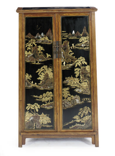 A PAIR OF CHINESE HARDWOOD AND
