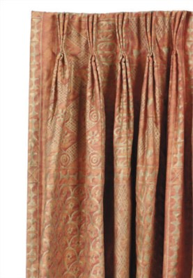 THREE PAIRS OF FORTUNY BURNT R