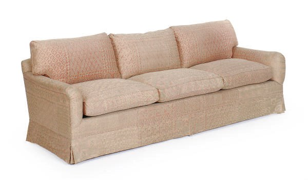 A THREE-SEAT FORTUNY UPHOLSTER
