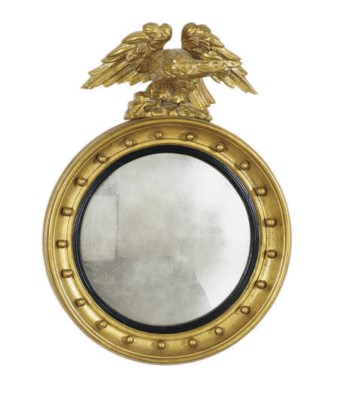 A REGENCY GILTWOOD AND PART-EB