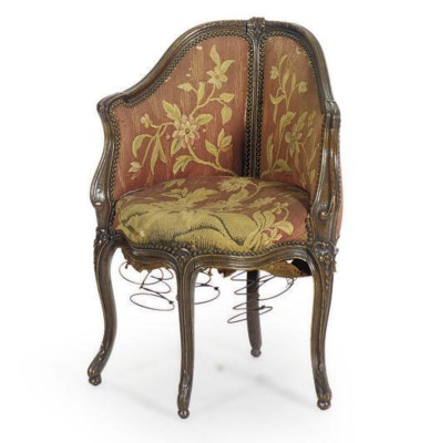 A LOUIS XV STAINED BEECHWOOD B