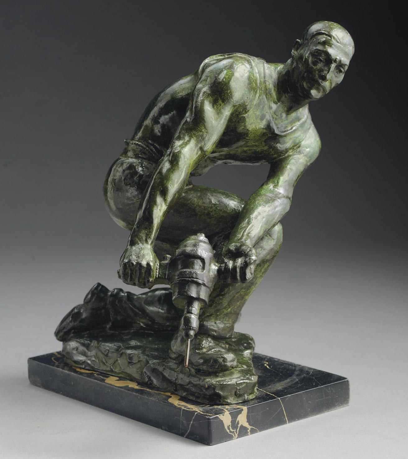 Man with Jackhammer