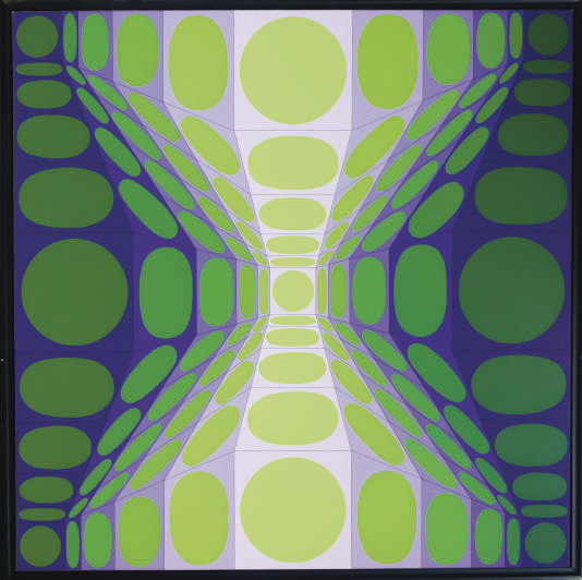 Victor Vasarely (Hungarian/Fre
