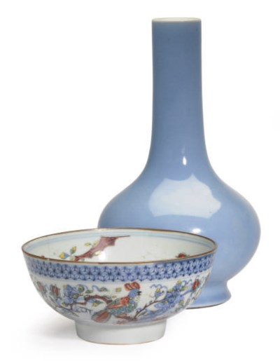 A CHINESE PORCELAIN LAVENDER-B