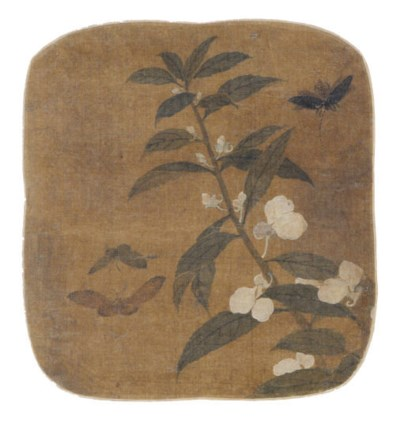 A CHINESE ALBUM LEAF PAINTING