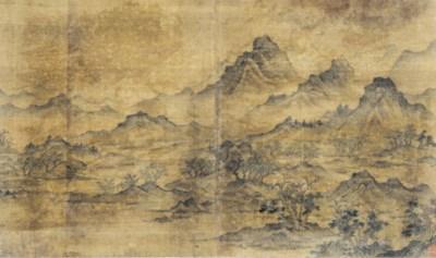 A CHINESE UNBOUND ALBUM OF TEN