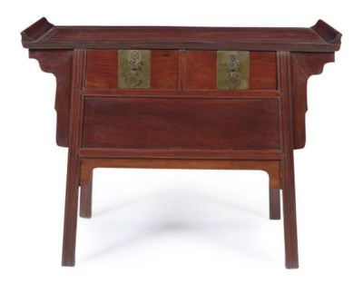 A CHINESE HUANGHUALI AND HARDW