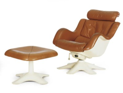 AN ADJUSTABLE LOUNGE CHAIR AND