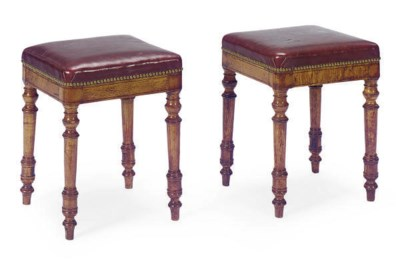 A PAIR OF FRUITWOOD AND BIRCH